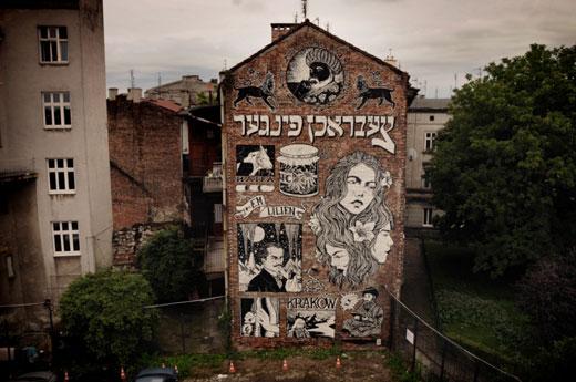 Resultado de imagen de Mural histórico de Kazimierz
