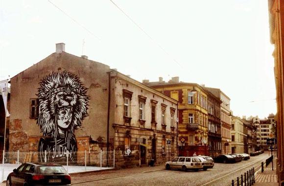 Festiwalowe murale na Kazimierzu